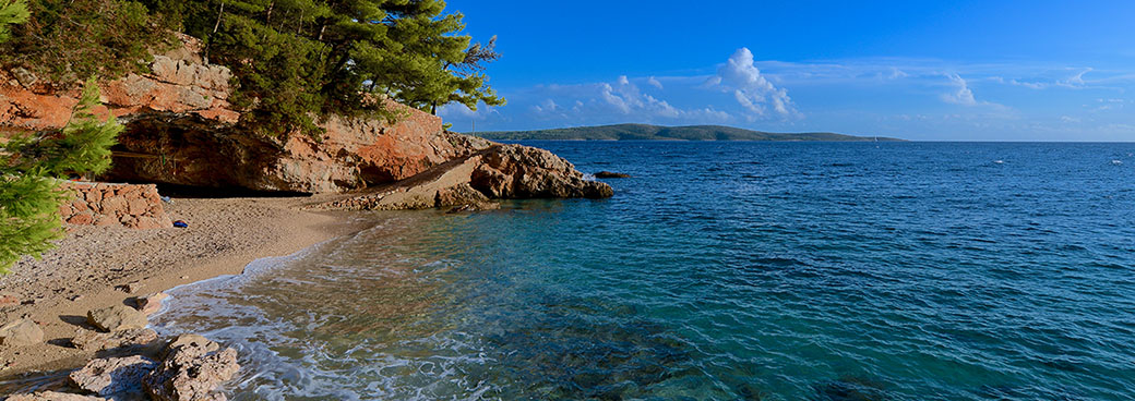 Beaches on Hvar